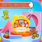 Музыкальная игрушка-пианино «В гостях у сказки», 16 весёлых песенок, работает от батареек