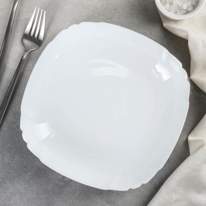 Тарелка суповая 22 см Lotusia, 550 мл