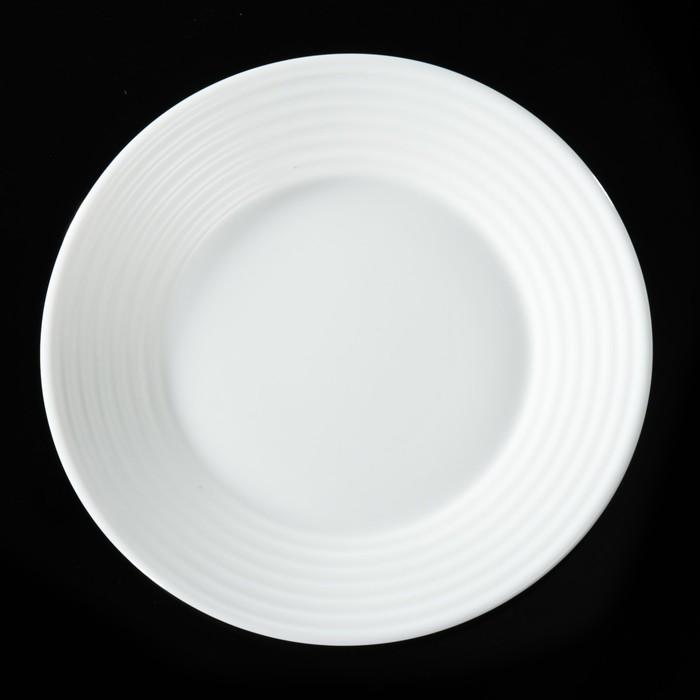 Тарелка обеденная Stairo, d=23,5 см - фото 285466185