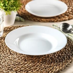 Тарелка суповая 22 см Everyday, 450 мл Ош
