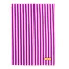 Ткань на клеевой основе «Фиолетовые полоски», 21 х 30 см
