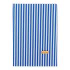 Ткань на клеевой основе «Синие полоски», 21 х 30 см