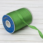 Косая бейка, ширина 15мм, 131м, цвет зелёный