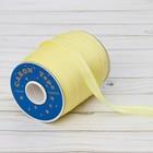 Косая бейка, ширина 15мм, 131м, цвет жёлтый
