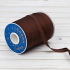 Косая бейка, ширина 15мм, 131м, цвет коричневый