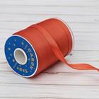 Косая бейка, ширина 15мм, 131м, цвет терракотовый