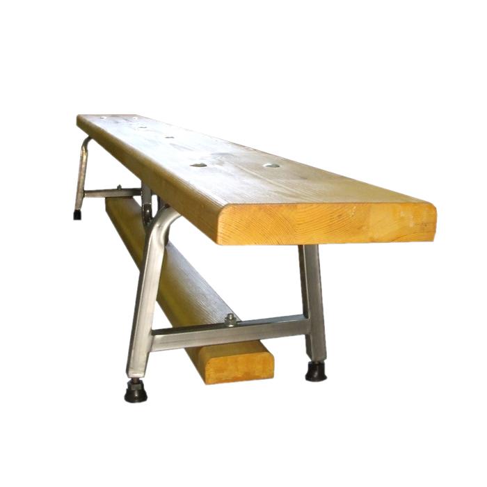 Гимнастическая скамейка на металлических ножках 3 м