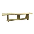 Гимнастическая скамейка на деревянных ножках 2 м
