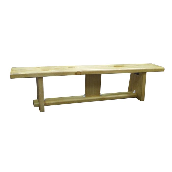 Гимнастическая скамейка на деревянных ножках 2,5 м