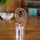 "Led candle ""Figure 9"", color: silver"