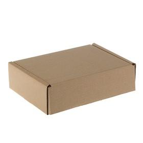 Коробка самосборная, почтовая, 25,3 х 18,7 х 7,4 см Ош