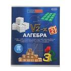 Тетрадь предметная «Алгебра.Формула знаний», 48 листов клетка, обложка мелованная бумага, второй блок