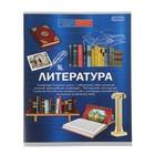 Тетрадь предметная «Литература.Формула знаний», 48 листов линейка, обложка мелованная бумага, второй блок