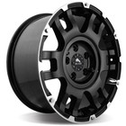 Диск BUFFALO BW-004 8.5x17/6x139.7 ET25 D106.3 Gloss-Black-Machined-Face