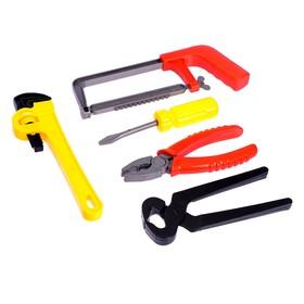 """A set of tools, """"Carpenter"""", 5 pieces, MIX"""
