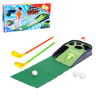 """Мини гольф """"Чемпион"""", световые и звуковые эффекты, работает от батареек"""