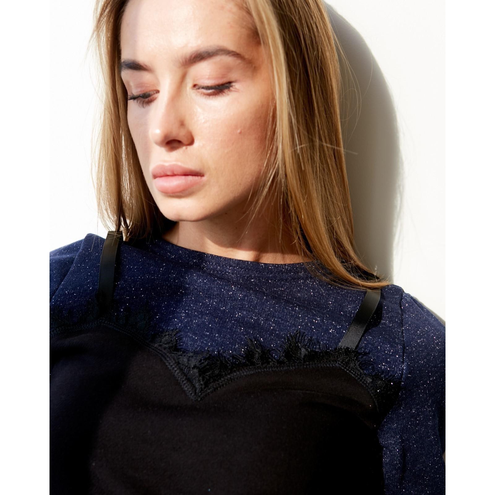 13268215daba Платье женское KAFTAN, р-р 48-50, индиго/чёрный (3365378) - Купить ...