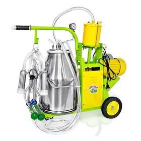 Доильный агрегат 2 в 1, 22,6 л, может доить как коров, так и коз, силикон