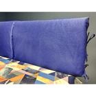 Подушка-изголовье 62х80 см, цвет васильковый, рогожка, синтет.волокно, 95% пэ 5%хл