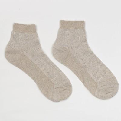 Носки женские, цвет бежевый, размер 23