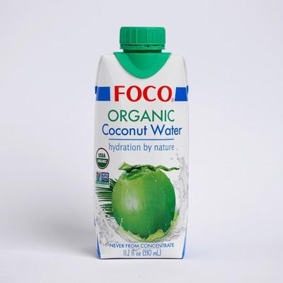 Органическая кокосовая вода FOCO, 330 мл Tetra Pak