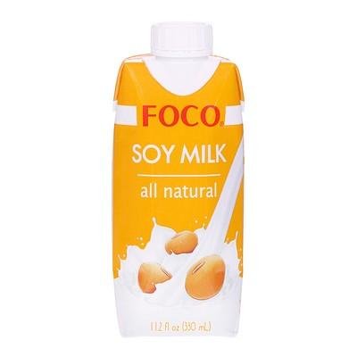 """Соевый напиток """"FOCO"""" 330 мл Tetra Pak(соевое молоко)"""