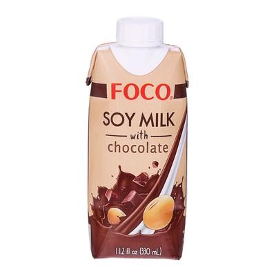 """Соевый напиток """"шоколадный"""" """"FOCO"""" 330 мл Tetra Pak"""