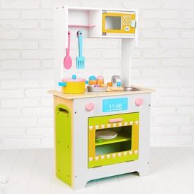 Игровой набор «Кухня с микроволновкой и этажеркой»