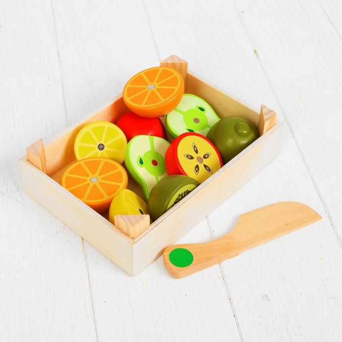 Набор продуктов в ящике «Сочные фрукты» - фото 105580214