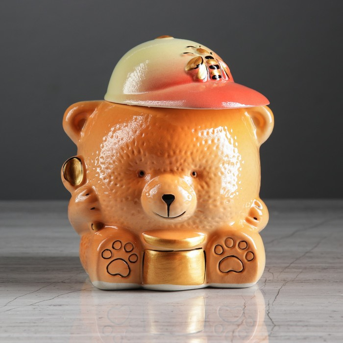 """Бочонок для мёда """"Мишка"""", 550 мл"""