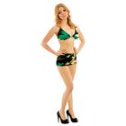 Комплект военного женский(лиф,шорты)трикотаж 100п/э,р-р 92-100-164