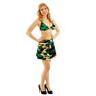 Комплект военного женский(лиф,юбка)трикотаж 100п/э, р-р 88-96-164