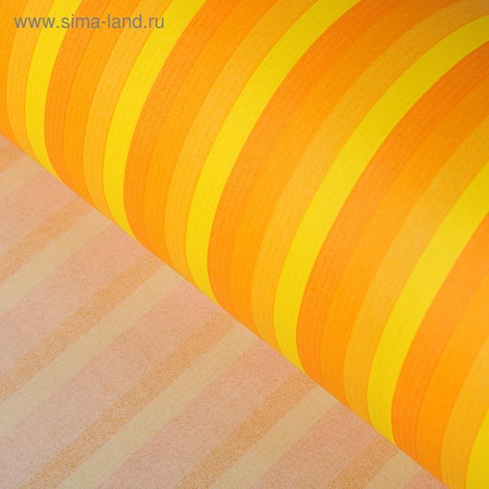 Крафт бумага  Sadipal XL line, «Солнечные полоски», 1 x 2 м