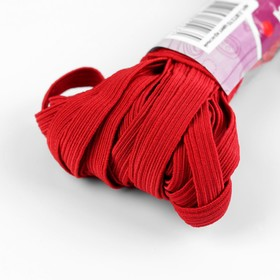 Elastic band elastic 10 mm 10±1 m, No. 152, color red