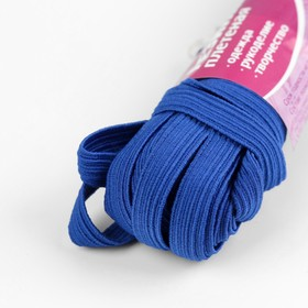 "Elastic band elastic 10 mm 10±1 m, No. 210, color ""blue"""