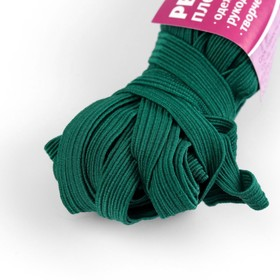 Elastic band elastic 10 mm 10±1 m, No. 225, color dark green