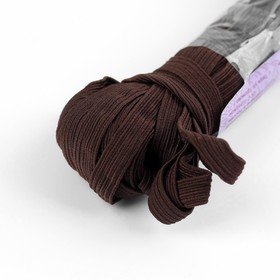 Elastic band elastic 10 mm 10±1 m, No. 260, color brown