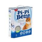 """Наполнитель комкующийся Pi-Pi-Bent """"DeLuxe Clean cotton"""", 5 кг"""