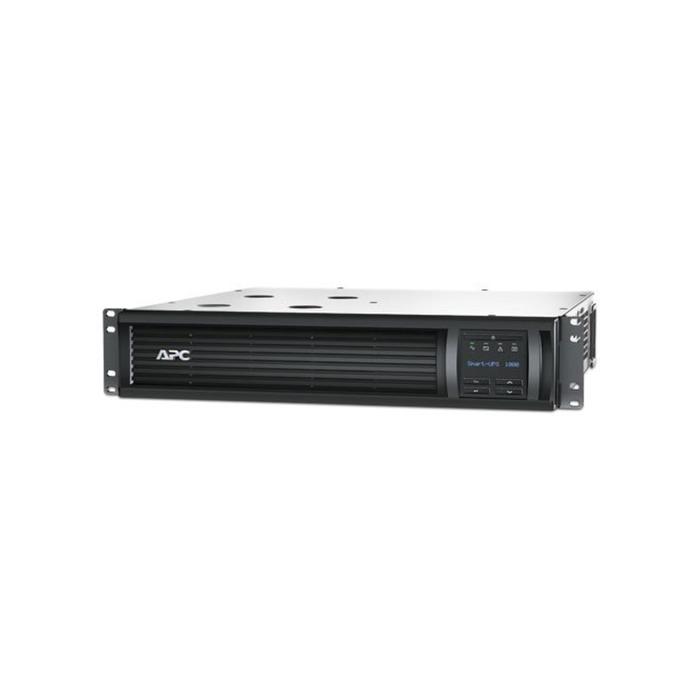 Источник бесперебойного питания APC Smart-UPS SMT1000RMI2U, 700 Вт, 1000 ВА, черный