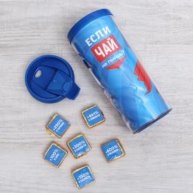 Подарочный набор «Откуда силу берёшь?»: термостакан 350 мл, чай пуэр 30 г
