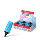 Маркер текстовыделитель 0.6-5.2мм Erich Krause Visioline Mini голубой, флуоресцентные чернила на водной основе