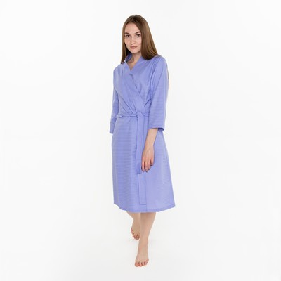 """Waffle Bathrobe women, """"the Economy and me"""" 3/4 sleeve color lilac R. 50-52, CL 100%, 200 g/m2"""
