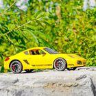 """Машина радиоуправляемая """"Porsche Cayman R"""", масштаб 1:10, работает от аккумулятора, свет, в пакете"""
