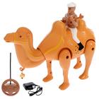 """Верблюд радиоуправляемый """"Король пустыни"""", работает от батареек, свет и звук в пакете"""