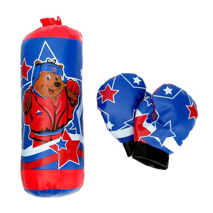 """WOOW TOYS Игровой набор для бокса """"Мишка"""" №SL-00790"""