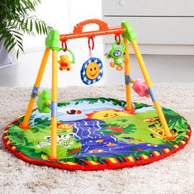 Игровой развивающий центр «Ручеек», с ковриком, музыкальный