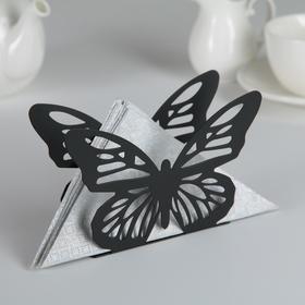 {{photo.Alt    photo.Description    'Салфетница Доляна «Бабочка», 13,5×4×9 см, цвет чёрный'}}