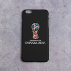 Чехол 2018 FIFA WORLD CUP RUSSIA, iPhone 6/6S Plus, soft-touch