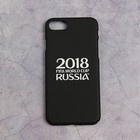 Чехол FIFA WORLD CUP RUSSIAN 2018, iPhone 7/8, soft-touch