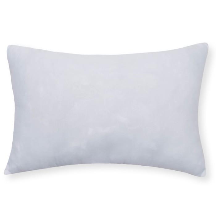 Подушка АДЕЛЬ 40х60см, цв.МИКС, холлофайбер, микрофибра, пэ100%